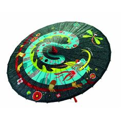 Dragonfly and Dragon umbrella with bamboo frame and waterproof fabric by Djeco Chinese Bamboo, Sweet Little Things, Dragon Design, Waterproof Fabric, Chinese Style, Outdoor Blanket, Toys, Holiday Decor, Pattern