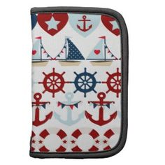 Summer Nautical Theme Anchors Sail Boats Helms Planner