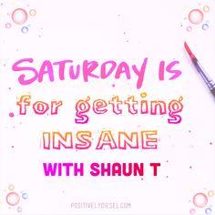 #Saturday #Insanity #ShaunT #Beachbody