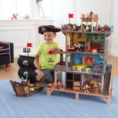 Piraten Spielset Piratenschiff mit viel Zubehör aus Holz Kidkraft 63284 in Spielzeug, Holzspielzeug, Sonstige | eBay