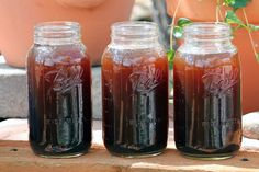 Camp Wander....Sweet Manure Tea....once brewed this is a concentrate...use 1 part tea and 1 part water...or use your hose feeder bottle