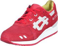Chaussures Asics Homme Gel Lyte III rouge Livraison Gratuite €61.99