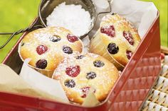 Only two days until RSPCA's Cupcake Day so get baking with these delightful mixed berry cupcakes!