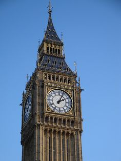 Big Ben, London England.