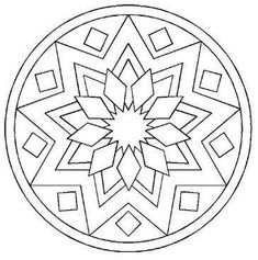 Desenhos de Mandalas para Colorir - Como Fazer