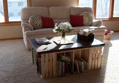 En este post Sayil nos enseña varias ideas para reciclar huacales y decorar nuestra casa y habitacion.