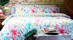 Escape to the Tropics: Bed Linen   ACHICA