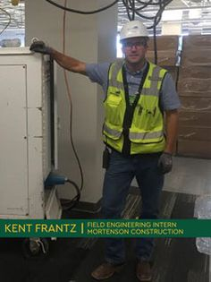 Students from Northern Michigan University are completing awesome internships! Kent Frantz is a construction management major from Alpena, Mich. This summer, he took a field engineering internship. Student Jobs, Summer Jobs, Northern Michigan, Phoenix, Commercial, Management, Construction, Building