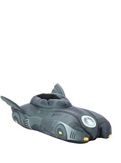 DC Comics Batman Batmobile Slippers @ niftywarehouse.com