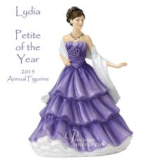 Royal Doulton, 'Lydia', 2015 Petite Figurine of the Year.