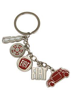 FIAT Charm Key Ring