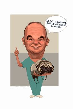 carcoma #caricatura. Regalo_pareja_aniversario_veterinario