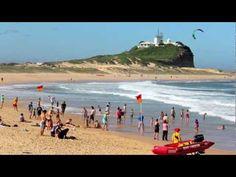Best Beach In The World - Newcastle, Australia - YouTube