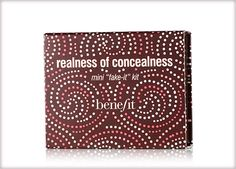 Benefit Cosmetics - realness of concealness #benefitgals