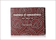 Benefit Cosmetics - realness of concealness #benefitgals