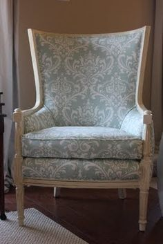info at this blog to help me reupholster my pink antique rocking chair