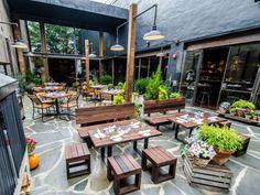 barcelona wine bar, restaurant, patio, outdoors, washington, dc