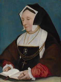 Studio of Hans Holbein the Younger: Lady Alice More (second wife of Sir Thomas More) (ca. 1530)