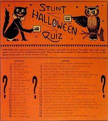 The Vintage Halloween Website: Games