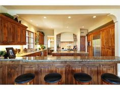 Love this house and this kitchen!