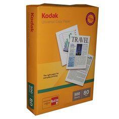 Price Rs.2,902/- Buy Kodak Universal Copier A3 80 GSM Box of 5 Reams Online in India