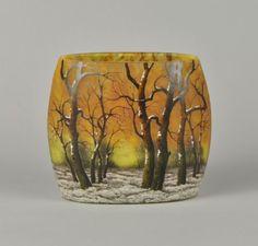 All sizes   Daum Freres, Winter Vase   Flickr - Photo Sharing!