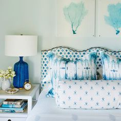 10 Ways to Create a Resort-Worthy Bedroom - Coastal Living Target Home Decor, Home Decor Items, Cheap Home Decor, Coastal Bedrooms, Coastal Living, Beach Bedrooms, Master Bedrooms, Beach Cottage Style, Beach House Decor