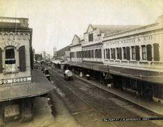 1800s Fort Street Downtown Honolulu, Honolulu, Hawaiʻi.   Compliments Of:  Vintage Hawaiʻi