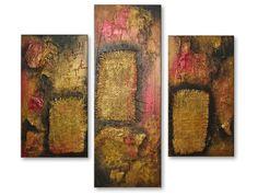 Cómo hacer cuadros abstractos modernos texturizados | actionpainting.