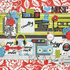 Soundtrack of My Life by Krystal Hartley and Tickled Pink Studio  Road Trip Temp by Little Green Frog Designs