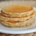 Overnight Oatmeal Cinnamon Pancakes-YUMM!