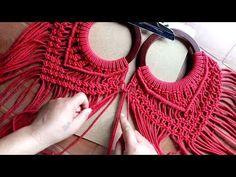 WOW !! Very Easy New Design Macrame Bag | Handmade Macrame Bag | Macrame Handbag Easy DIY Tutorial - YouTube