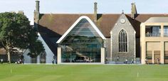 Brighton Collegfe | Eric Parry Architects Library Architecture, Historical Architecture, Modern Architecture, Brighton College, Music Library, Old Building, Cabin, Mansions, House Styles