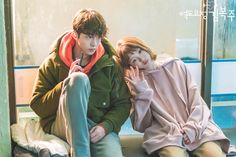[behind the scenes] ♥ Weightlifting Fairy Kim Bok Joo (MBC ♥ Weightlifting Fairy Wallpaper, Weightlifting Fairy Kim Bok Joo Wallpapers, Swag Couples, Cute Couples, Weightlifting Kim Bok Joo, Weightlifting Fairy Kim Bok Joo Lee Sung Kyung, Weighlifting Fairy Kim Bok Joo, Nam Joo Hyuk Lee Sung Kyung, Live Action
