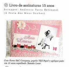 Revista Albuns Decorados - Março 2015 com produtos E&C Company