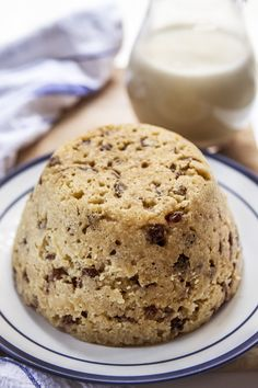 spotted dick without suet