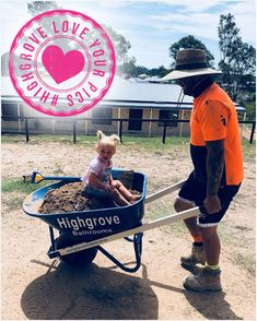 Our wheelbarrows are great for getting stuck into the gardening with the little ones. Thanks for sharing @stephbangg