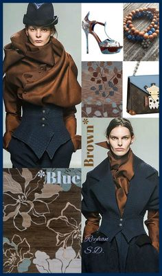 Blue & Brown  by Reyhan S.D.
