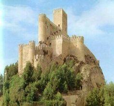 Castelo de Almanza-Alicante (Espanha).