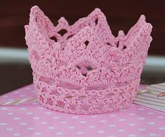 Crocheted Princess Crown