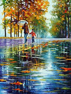 STROLL IN AN AUTUMN PARK - oil painting by L.Afremov. Only now $89 include shipping https://afremov.com/STROLL-IN-AN-AUTUMN-PARK-1-PALETTE-KNIFE-Oil-Painting-On-Canvas-By-Leonid-Afremov-Size-40-x30-100cm-x-75cm.html?bid=1&partner=20921&utm_medium=/offer&utm_campaign=v-ADD-YOUR&utm_source=s-offer