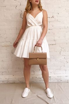 Take advantage of the warm sunny days clothed in this magnificent short dress! A Line Cut, A Line Shorts, Asian Fashion, Sunny Days, Diys, Musicals, Fashion Inspiration, Short Dresses, Vestidos