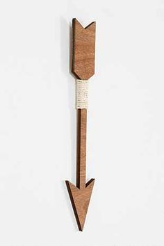 Three Potato Four Wooden Arrow Wall Art - Urban Outfitters