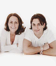 Mats Zuccarello and his mother Anita
