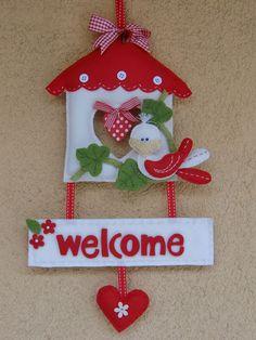 Felt Crafts, Fabric Crafts, Diy And Crafts, Felt Christmas, Christmas Crafts, Christmas Ornaments, Sewing Toys, Sewing Crafts, Felt Decorations