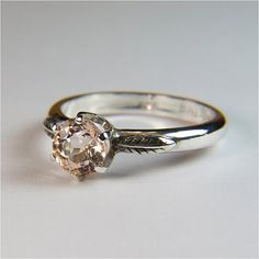 Pink Emerald Ring
