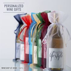 Celebrate the season on a label of your own design! Or a label I design for you! For a perfectly unique gift, nothing is more personal than a gift of Personalized Wine - and let's be real, wine is everyone's favorite gift! http://wsah.life/xwf97