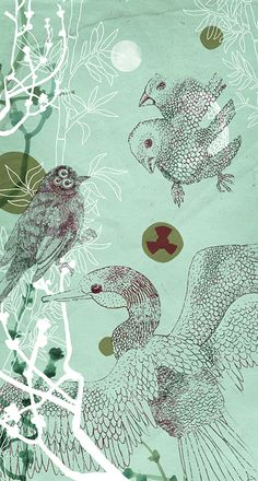Nina Weber Illustration:  Fukushima Beauty #1 www.illuninare.de