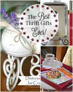 The Best Thrift Gifts Ever! Great for any time of year! Christmas, Birthdays..any kind of gift giving occasion!