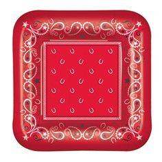 bandana plates
